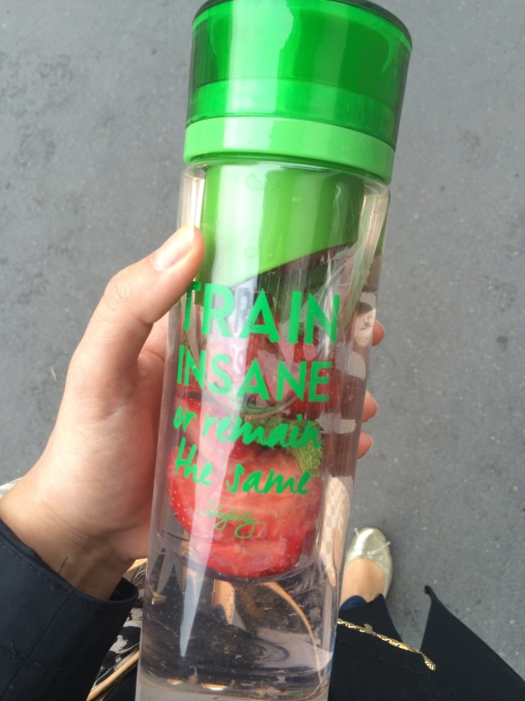 Programme detox - detox water fraises menthe
